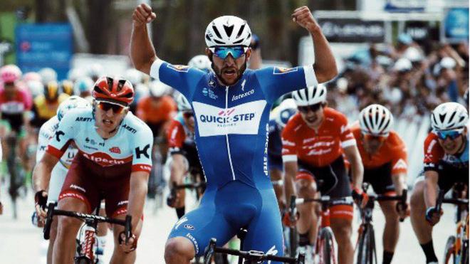 Fernando Gaviria ganó la quinta etapa del Tour de California