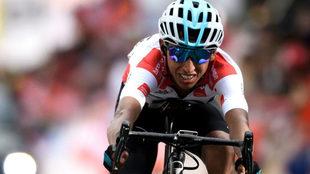 Egan, en el Tour de Romandía, donde acabó segundo