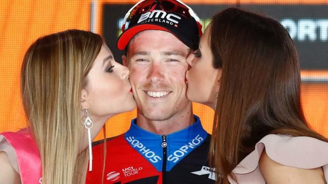 Dennis fue líder del Giro 2018 durante 4 días / Luk Benies