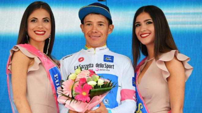 Superman López está muy cerca del podio del Giro 101