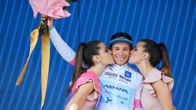 Miguel Ángel López, podio en el Giro de Italia 2018