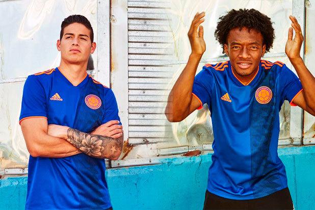 La camiseta de Colombia es la más linda del Mundial de Rusia