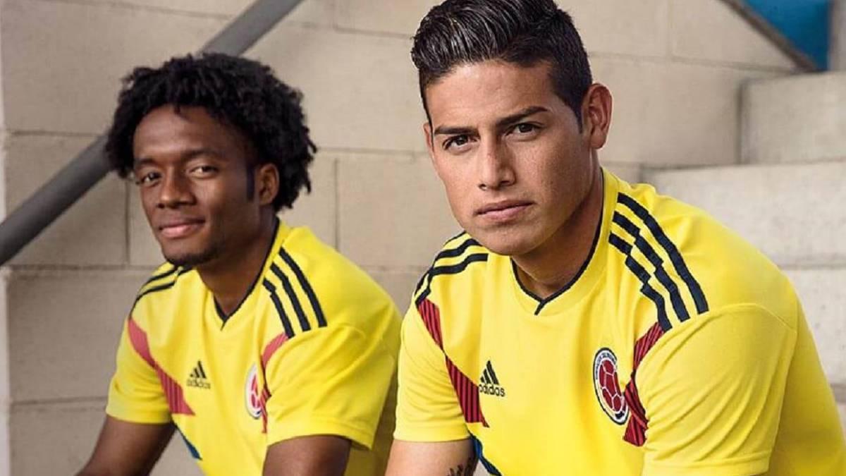 La camiseta de Colombia, la más linda del Mundial