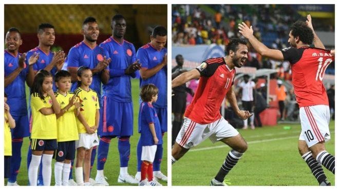 Colombia y Egipto se enfrentarán este viernes en Italia