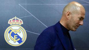 Zidane, el día que se despidió del Real Madrid