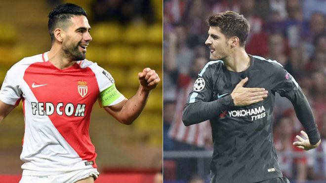 AC Milan busca delantero: Morata y Falcao son las opciones