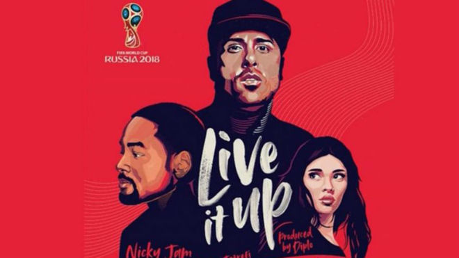 'Live It Up', la canción oficial del Mundial Rusia 2018