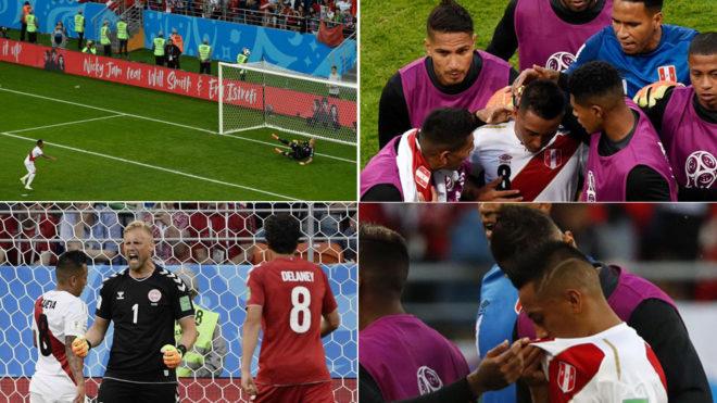 Perú desaprovecha un penal y Dinamarca se lleva la victoria