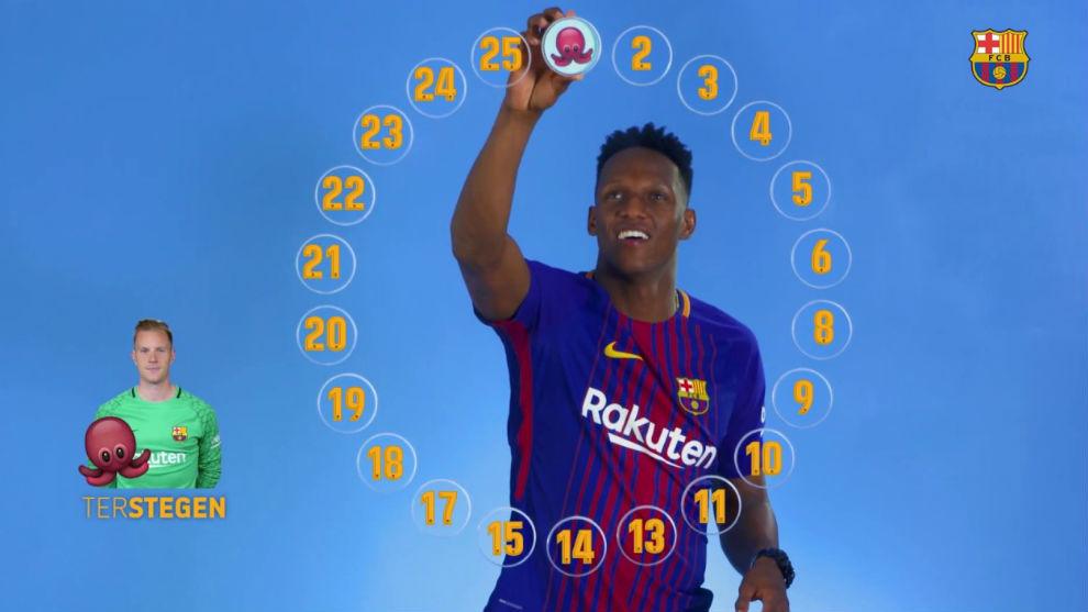 Yerry Mina podría salir del Barcelona