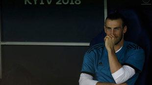 Bale, en el banquillo en Kiev