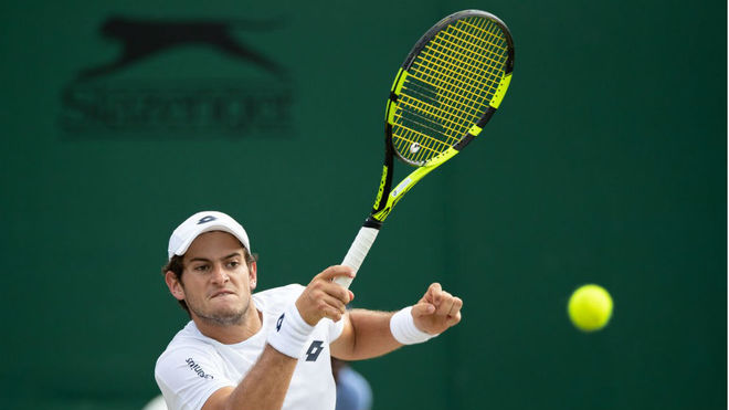 Nicolás Mejía cae en semifinales de Wimbledon Junior
