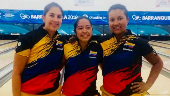 Anggie Rodríguez, Laura Plazas y María José Rodríguez