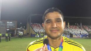 Larry Vásquez, volante campeón centroamericano