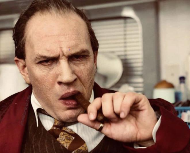 Revelan nueva imagen de Tom Hardy como Al Capone — Irreconocible