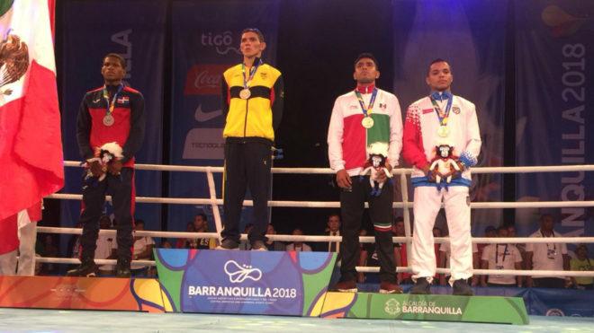 Colombia en lo más alto del podio en boxeo / Coldeportes / COC