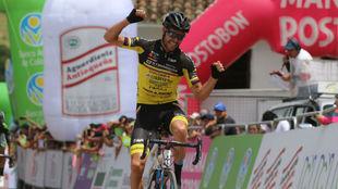 Osorio y su momento de victoria en Barichara