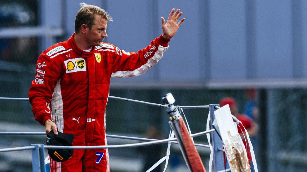 Kimi Raikkonen correrá con Alfa Romeo Sauber