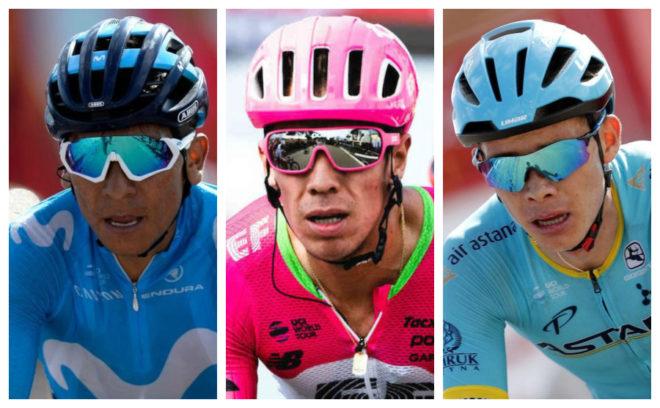 Quintana, Urán y López van por el 'maillot' rojo que tiene Yates