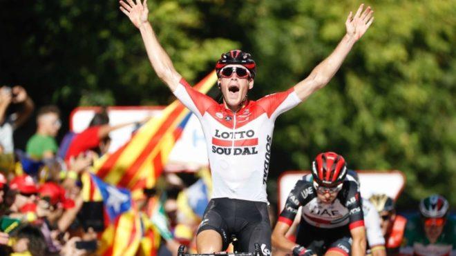 Primera victoria para el belga en una 'grande' / Photo Gomez Sport