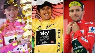 Froome con el Giro, Thomas con el Tour y Yates con la Vuelta