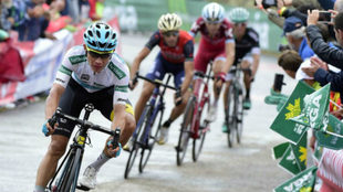 López fue gran animador de la Vuelta a España 2018