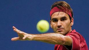 Federer en el pasado US Open