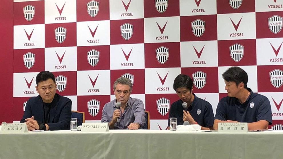 Lillo dirigirá al Vissel Kobe de Iniesta