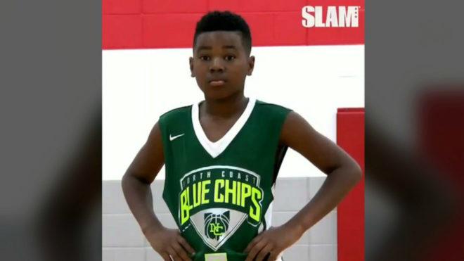 Bryce James, hijo menor de la estrella de la NBA