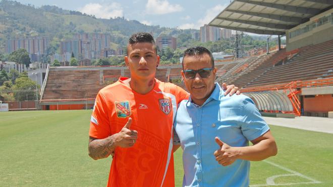 Alexis Zapata vuelve al club luego de cinco años.