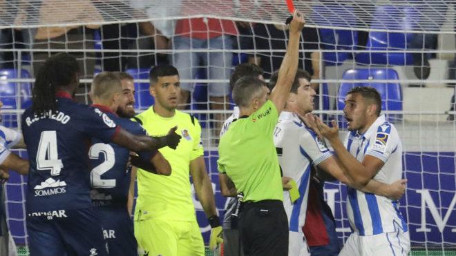 Real Sociedad con Héctor Moreno obtiene importante victoria
