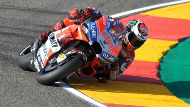 MotoGP: Jorge Lorenzo, con la pole en Aragon