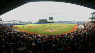 Estadio de béisbol Édgar Rentería en Barranquilla.