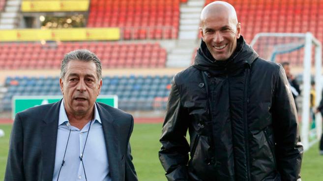 Representante de Zidane habló de su salida del Madrid