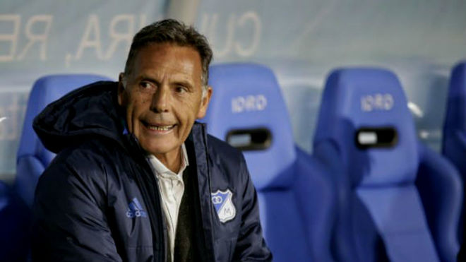 Miguel Russo, director técnico de Millonarios.