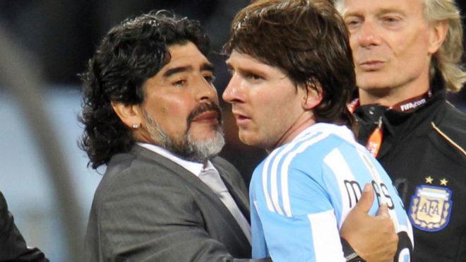 Mario Kempes defendió a Lionel Messi y criticó duro a Diego Maradona