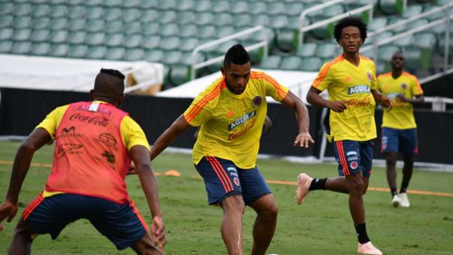 El jugador del Palmeiras volvió al gol con la Selección de Mayores /...