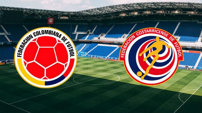 Horario y dónde ver hoy el Colombia vs Costa Rica