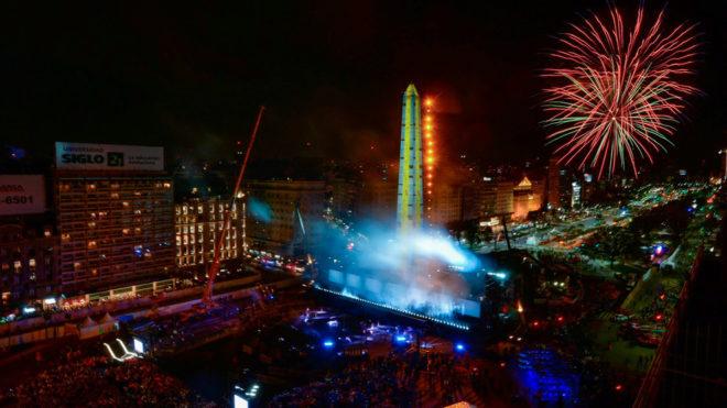 Imagen de la gran fiesta de la inauguración