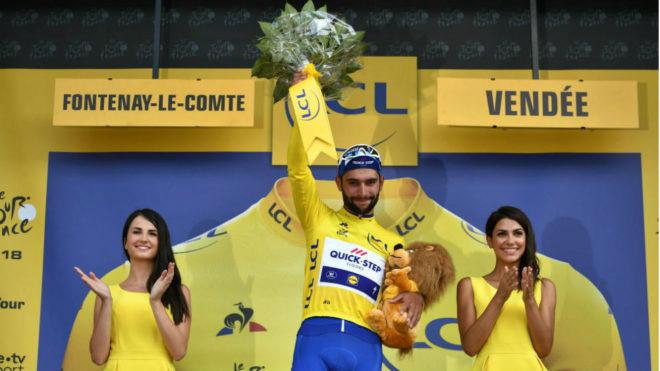 Fernando en lo más alto del podio del Tour de Francia 2018
