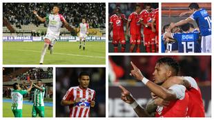 Millos vs Tolima, Once Caldas vs Atlético Nacional y Junior vs...