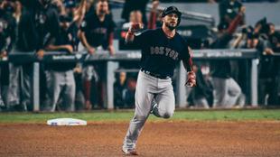 Red Sox a un triunfo de conquistar el título @MLBStatoftheDay