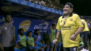 Maradona no se cambia por nadie en Sinaloa