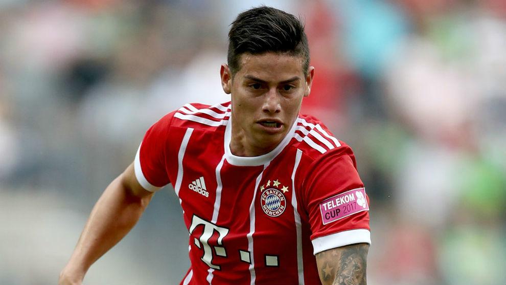En Alemania anuncian que James Rodríguez se marcharía del Bayern Múnich