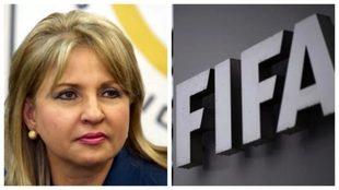 María Clauida Rojas señalada en los documentos de Football Leaks.
