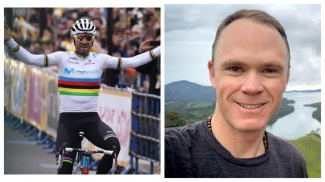 Valverde y Froome han mostrado gran interés de estar en una de las...