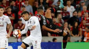 El Atlético Paranaense venció por 2-0 al también brasileño...