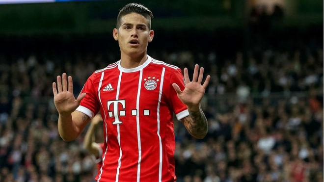 James, tras marcar la pasada temporada en el Bernabéu
