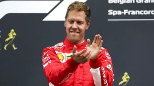 Sebastián Vettel, piloto alemán.