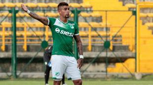 Juan Sebastián Quintero, con el Deportivo Cali