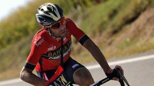 Nibali durante la Vuelta a España 2018 / EFE